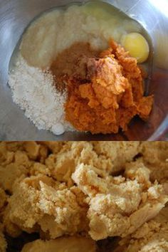 Homemade grain free apple cinnamon & pumpkin dog treats (recipes with biscuits grain free) Puppy Treats, Diy Dog Treats, Homemade Dog Treats, Healthy Dog Treats, Homemade Butter, Dog Cookie Recipes, Dog Treat Recipes, Dog Food Recipes, Food Tips