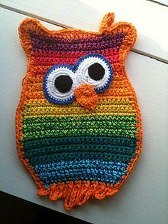 Owl potholders ~ Inspiration