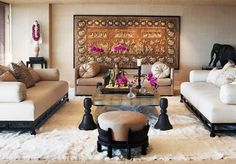 Martyn Lawrence Bullard Design...Cher's home