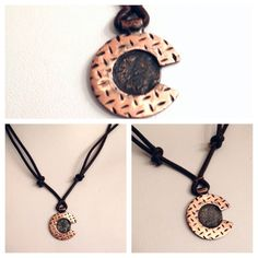 Unisex Adjustable Leather and Copper  Colorado C by Cu29Creations