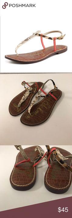 85fb9048e551 Sam Edelman Gigi Sandal Sam Edelman Gigi t-strap sandal size 9.5. It  features