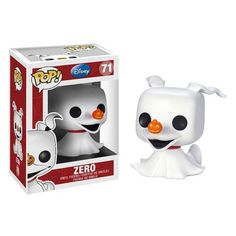 Nightmare Before Christmas Zero Ghost Dog Pop! Vinyl Figure - Funko - Nightmare Before Christmas - Vinyl Figures at Entertainment Earth