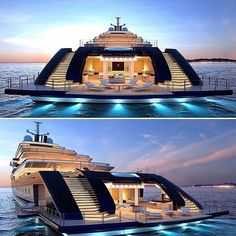 "1,352 Likes, 45 Comments - Millionaires | Luxury | Life (@millionnetwork) on Instagram: ""Stunning mega yacht, dope  or nope ? • • Gain 10K Followers In 30 Days, Free Guide. Link in Bio …"""