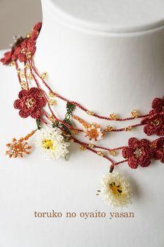 画像1: B トゥーオヤの小花ラリエット