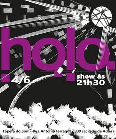 Holo - Álbum Tardígrado - show de lançamento