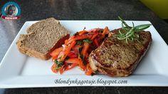 Blondynka Gotuje: Stek Wołowy - Jak usmażyć stek wołowy?