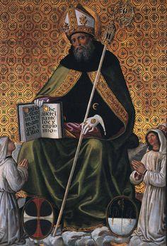 Galleria Nazionale Perugia - Pinturicchio - Gonfalon of St Augustine