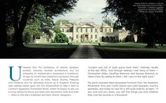 Veere Grenney - Palladian-style house in Oxfordshire