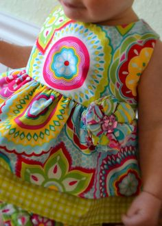 Baby Girl Sewing Pattern. Too cute!