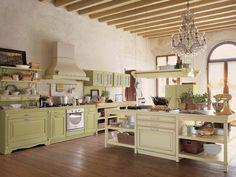Köögimööbel Itaaliast - Italian kitchen Itaalia mööblitootja Antares Cucine kollektsioon Opera,Style Kitchen Furniture, Furniture Design, Italian Kitchen Decor, Kitchen Island, Kitchen Cabinets, Classic Italian, Interior, Table, Kitchen Designs