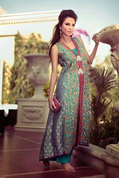 Tena Durrani Summer Dresses 2014