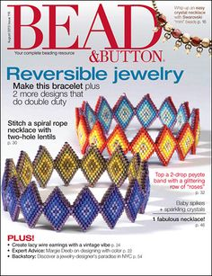 beading magazines | Bead & Button Magazine | Bead & Button Magazine Subscription