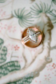 vintage-cut wedding ring #aromabotanical