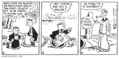 Announcsking Sunday Funnies - yer weekly dose of Classic Popeye humor! Popeye, June 2017