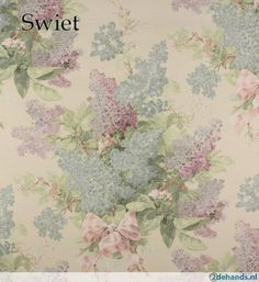 5468 Vintage retro barok behang behangpapier wallpaper Swiet