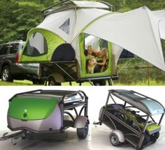 Camper Trailers: 16 Modern and Creative Camping Trailers Camping Glamping, Camping And Hiking, Camping Gear, Camping Hacks, Camping Checklist, Camping Survival, Palomino, Outdoor Fun, Outdoor Gear