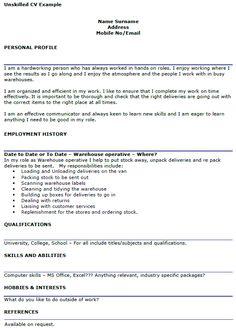 warehouse supervisor cover letter example