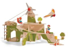 PlanToys Play Park is Packed with Eco-Minded Outdoor Fun | Inhabitots