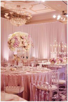 photo: Jana Williams; ballroom wedding reception idea;