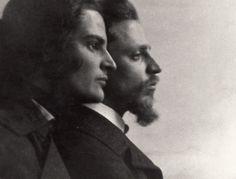 Clara Rilke Westoff & Rainer Maria Rilke, c.1903