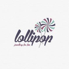 lollipop, jewellery for fun - logo on Behance