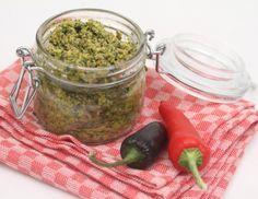 Scharfes Avocado-Nuss-Pesto - Rezept - ichkoche.at