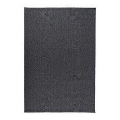 IKEA - MORUM, Tæppe, fladvævet, 160x230 cm, , Ideelt at bruge i stuen eller under spisebordet, for den fladvævede overflade gør det nemt at trække stole ud og støvsuge.Tæppet er perfekt til udendørs brug. Tåler regn, sol, sne og snavs.