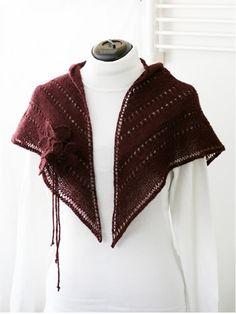 Ulla 02/09 - Ohjeet - Kummituskukkia Shawl, Knitting, Scarfs, Fashion, Scarves, Moda, Tricot, La Mode, Breien