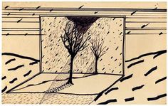 Eraser head: David Lynch's sketches – in pictures   Art and design   The Guardian