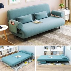 Single Foldable Small Apartment Multi Function Double Sofa Seat Homeaccessories Interiordesign Architecture Homed In 2020 Simple Sofa Small Sofa Bean Bag Sofa Bed