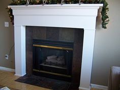 Redoing our fireplace surround