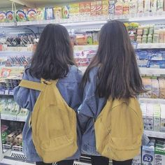 Shared by SANGNEW. Find images and videos about girl, friends and ulzzang on We Heart It - the app to get lost in what you love. Mode Ulzzang, Ulzzang Korean Girl, Ulzzang Couple, Cute Korean Girl, Bff Girls, Cute Girls, Korean Best Friends, Mode Kawaii, Best Friends Aesthetic