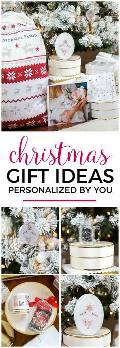The best personalized Christmas gift ideas for everyone on your list with Shutterfly and Orlando, Florida lifestyle blogger Ashley Brooke Nicholas! #shutterfly sponsored by Shutterfly   Christmas gift ideas, personalized gift ideas, monograms, monogrammed, monogrammed gifts, photo books, baby's first christmas, Santa sack, flocked Christmas tree, Christmas gift ideas, unique gift ideas