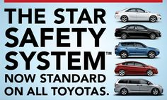 When was the last time you thought about your car's performance in terms of safety? All of the new Toyota near Orlando that you'll find at Toyota of Clermont come standard with the Toyota Star Safety System - get the details!   http://blog.orlandoautomotivefamily.com/2013/new-toyota-near-orlando-host-amazing-safety-technology/