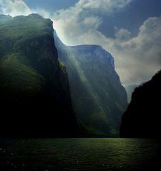 Cañon del Sumidero, Chiapas, México.