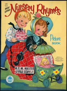 ''Best Loved Nursery Rhymes'' Merrill 1956