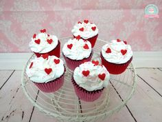 Valentine´s Day Cupcakes * Cupcakes Dia dos Namorados