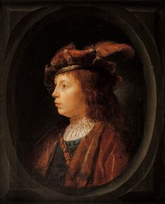 Gerrit Dou: portret van een jonge man. ca. 1650. Art Gallery of South Australia, Adelaide.