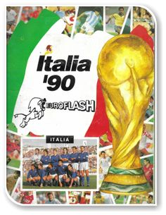 Italia 1990 Fifa World Cup, Baseball Cards, Italia