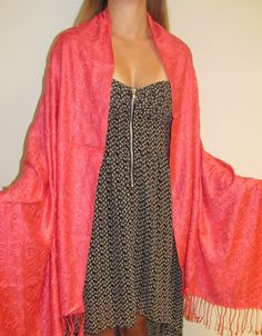 affordable women's shawls in embroidered elegance.