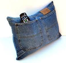 Znalezione obrazy dla zapytania tasche aus alter jeans selber nähen