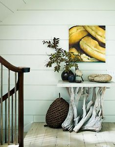 love that driftwood table
