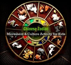 Culture & Movement Activity for Kids. Get kids bodies moving with this fun activity with the Chinese Calendar.