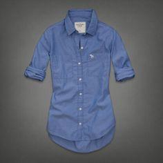 Womens Chloe Shirt | Womens Shirts | Abercrombie.com