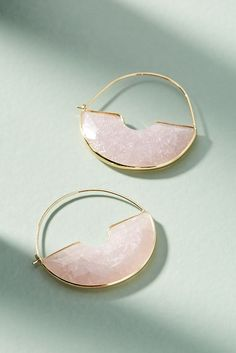 Temperance Hoop Earrings | Anthropologie