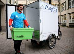 NEU bei der #memo: #Emissionsfreie, lärmfreie #Fahrradzustellung für Kunden innerhalb des #Berlin-er S-Bahn-Rings: | New at #memo corporation: #emissionfree #silent #delivery in Berlin. More details (German) under: http://bit.ly/2gu4heT