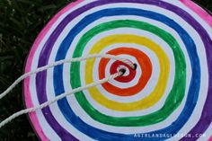 DIY Paper Spinner Circles Craft