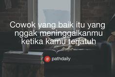 "UPDATE DAN TERKINI di Instagram ""Like jika kalian setuju . Follow @path.seputar.baper . . #quotes #kata #rasa #cewek #sedih #galau #baper #memeindonesia #instagram…"" Daily Quotes, Love Quotes, Picture Quotes, Qoutes, Meme, Kpop, Sayings, Learning, Wallpaper"
