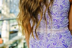 purple lace dress: Photo by Lori Romney Photography