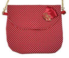 BASIC BAG POLKA DOTS RED